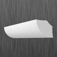 Плинтус потолочный багет Киндекор M-20  (20*20)