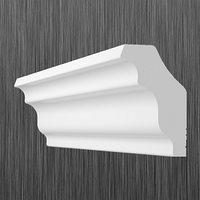 Плинтус потолочный багет Киндекор M-35  (35*30)