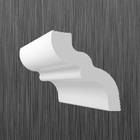 Плинтус потолочный багет Киндекор S-50 (40*52)