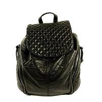 Рюкзак кожзам молодіжний чорний Batty 304, фото 1