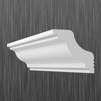 Плинтус потолочный багет Киндекор Z-40  (32*32)