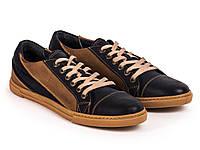 Кеды Etor 8507-4492-630 41 сине-коричневые, фото 1