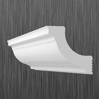 Плинтус потолочный багет Киндекор Z-45 (40*40)