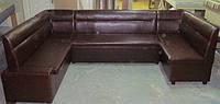 Офисный угловой диван раскладной механизм дельфин купить на заказ в Украине