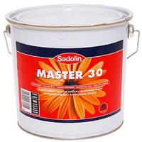 Sadolin MASTER 30 Полуматовая алкидная эмаль для внутренних и наружных работ (белый) 2,5 л