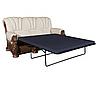 """Кожаный раскладной диван с резьбой  """"MUSTANG"""" (200см), фото 3"""