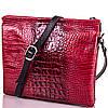 Яркая женская кожаная сумка DESISAN (ДЕСИСАН) SHI2811-1KR  (красный)