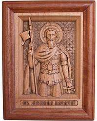 Ікона з дерева різьблене Святого мученика Назарія