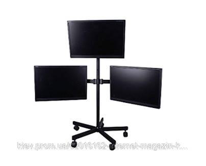 Напольная стойка для трех LCD мониторов EAGLE TV328