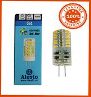 Лампа светодиодная Alesto G4 3W 12V 48LED 4500К нейтральный белый свет