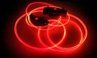 Светящиеся шнурки  4-го поколения, красные —самые Ярки!