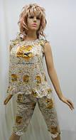 Пижама женская с бриджами Китай 627, фото 1