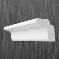 Плинтус потолочный багет Киндекор M-25 (27*20)