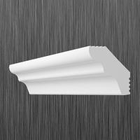 Плинтус потолочный багет Киндекор E-25 (25*17)
