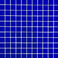 Мозаика прозрачное стекло Vivacer одноцвет 2,5*2,5 B025