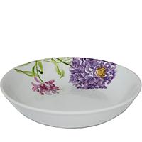 Суповая тарелка 21 см Хризантема.