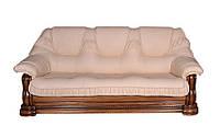 """Классический кожаный раскладной диван """"GRYZLI"""" Hup (220см)"""