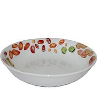 Суповая тарелка 21 см Овощи.