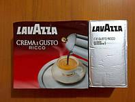 Молотый кофе Lavazza «Crema e Gusto Ricco»(серая) 250г, фото 1