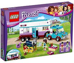 LEGO Friends Ветеринарный фургон для лошадей 41125