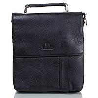 Мужская кожаная сумка LARE BOSS (ЛАРЕ БОСС) TU49560-3-black