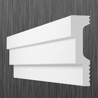 Плинтус потолочный багет Киндекор L-60 (16*60)