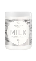 Крем-маска для волосся з екстрактом молочного протеїну Kallos milk 1000 мл