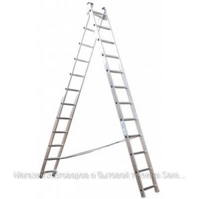 Универсальная 2-х составная лестница Кентавр 2x12