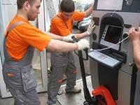 Перевозка банкомата грузчики  в киеве