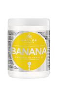 Зміцнююча маска для волосся з комплексом мультивітамінів Kallos banana 1000 мл