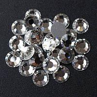 Стразы  Серебро №3 100 шт, 1.2мм