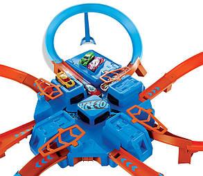 Трек Хот Вилс Авария Крест Накрест Опасный перекресток Hot Wheels Criss Cross Crash, фото 2