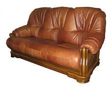 """Кожаный диван с креслом """"Барон 4090""""  (3+1), фото 3"""