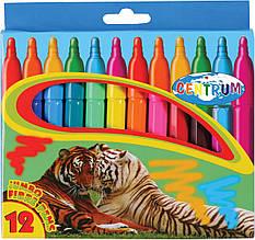 Набір фломастерів 12 кольорів JUMBO Zoo