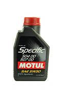 Масло моторное Motul Specific 504.00-507.00 5W-30 1л