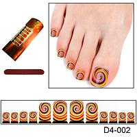 Дизайн калейдоскоп для ногтей