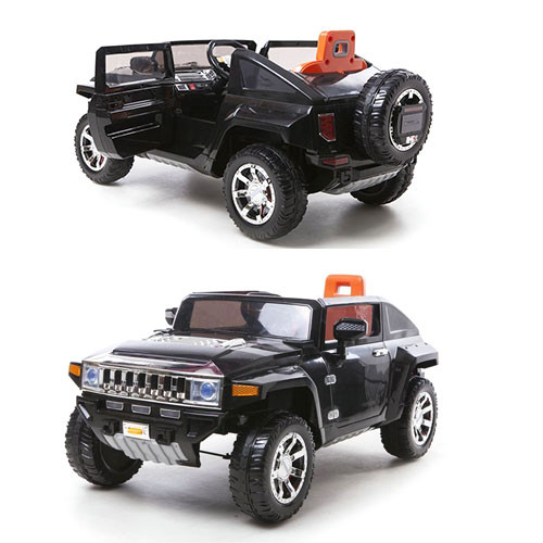Детский электромобиль Джип Hummer M 2798EBR-2 черный