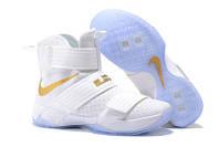 Баскетбольные кроссовки Nike Soldier 10 white