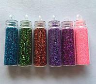 Декор для дизайна ногтей цветной