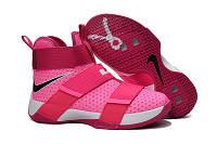 Баскетбольные кроссовки Nike Soldier 10 розовые