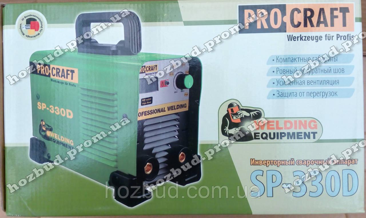 Інверторний зварювальний апарат PROCRAFT SP-330D