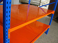 Стеллажи металлические НВ, с нагрузкой на полку до 1000 кг, более 50 комплектаций