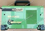 Инверторный сварочный аппарат PROCRAFT SP-330D, фото 4
