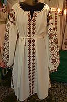 """Вишите жіноче плаття """"Ярославна"""""""