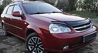Дефлектор на капот (мухобойки) Chevrolet Lacetti 2003- /седан,универсал