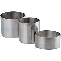 Форма металлическая для гарнира круглая