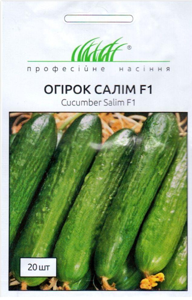 Огірки Салім F1-високоврожайний гібрид огірка типу Бет Альфа для відкритого ґрунту