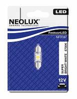 NEOLUX LED  / тип лампы C5W - 31mm / 6700K / 1шт