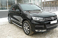 Дефлектор капота Volkswagen Touareg 2010-
