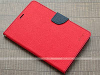 Чехол Mercury Fancy Diary для Samsung Galaxy Tab S2 8.0 SM-T710, T715, T713, T719 Red/Navy